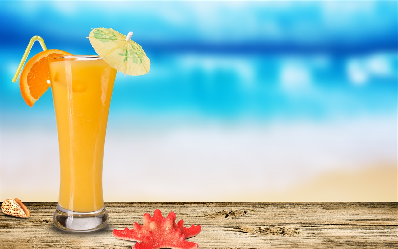 Orange Juice Wallpaper For IPhone Wallpaper WallpaperLepi 1280x800