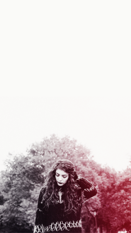 lorde iphone wallpaper Tumblr 422x750
