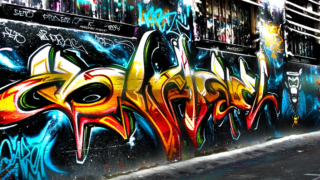 foto de Free download 3D Graffiti Wallpaper Download HD Wallpapers ...