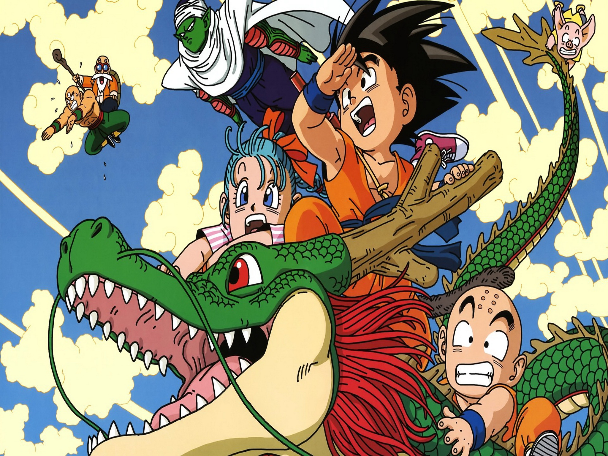 Anime   Dragon Ball Z Dragon Ball Wallpaper 2048x1536