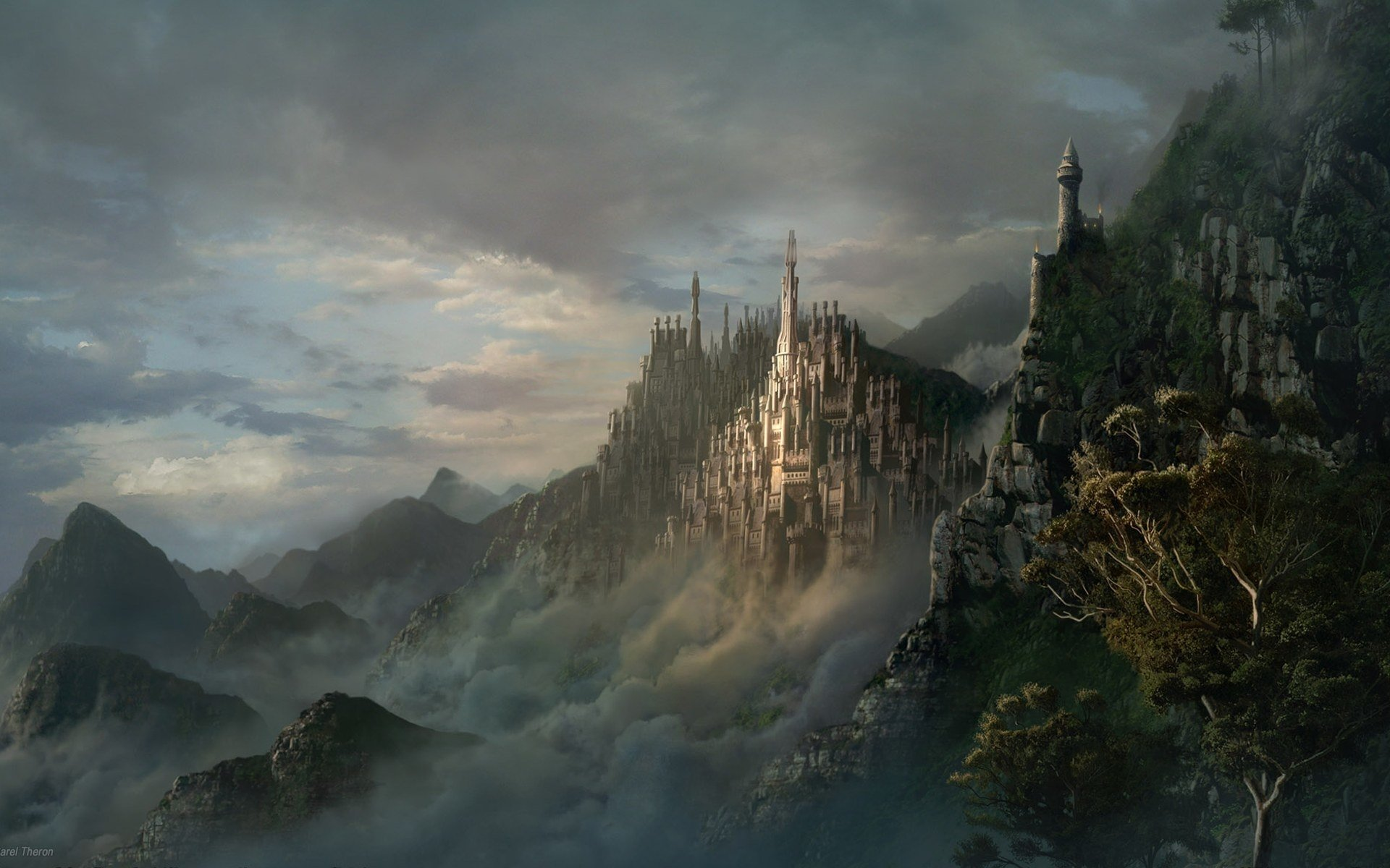 2523 Castles HD Wallpapers Background Images 1920x1200