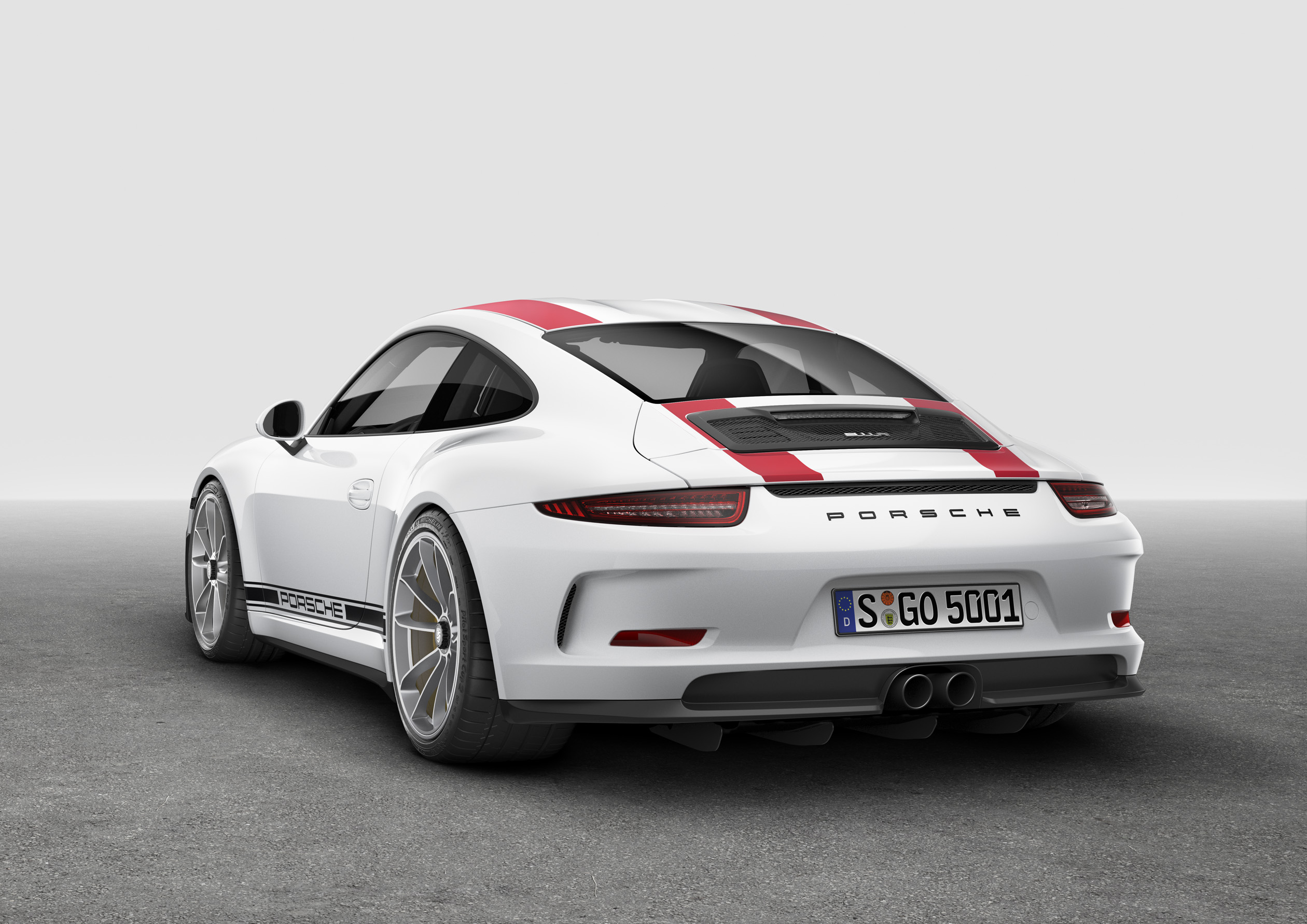 [Genve 2016] Porsche 911 R plus virile 2520x1782