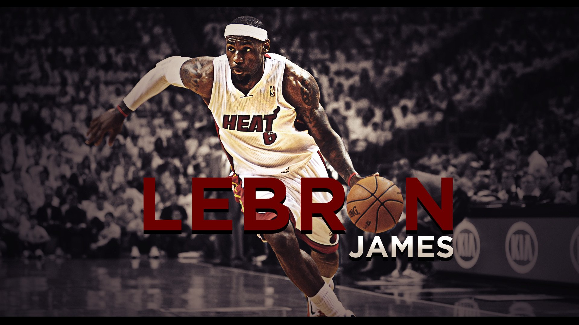 Lebron James HD Wallpaper Wallpapers Backgrounds Images Art 1920x1080