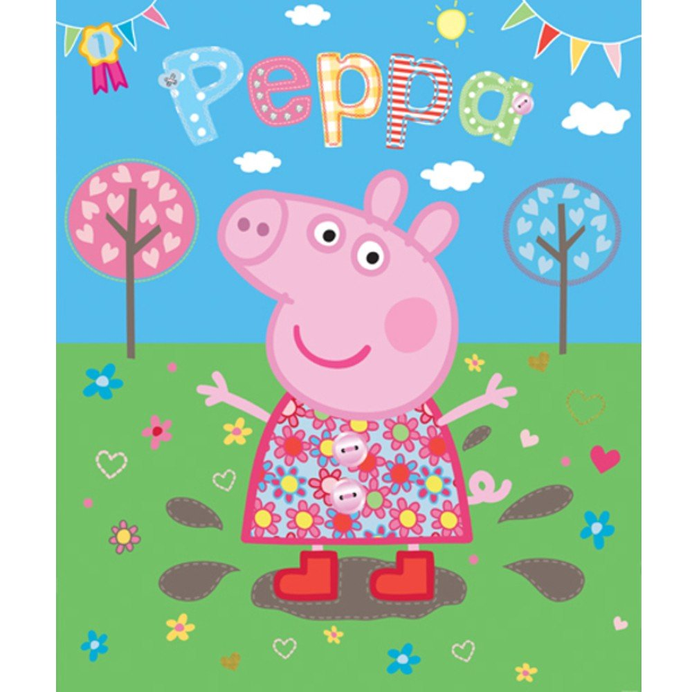 Peppa Pig Wallpaper - Peppa Pig Wallpaper by Walltastic | Great ...