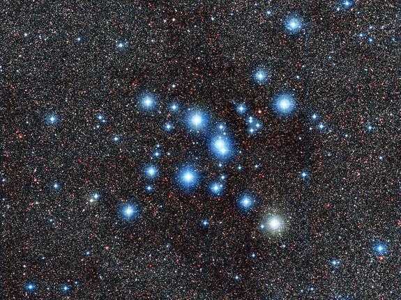 Messier 7 Star Cluster 575x431
