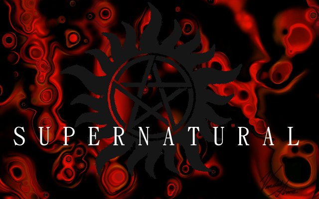 Showing Gallery For Supernatural Logo Wallpaper 640x400