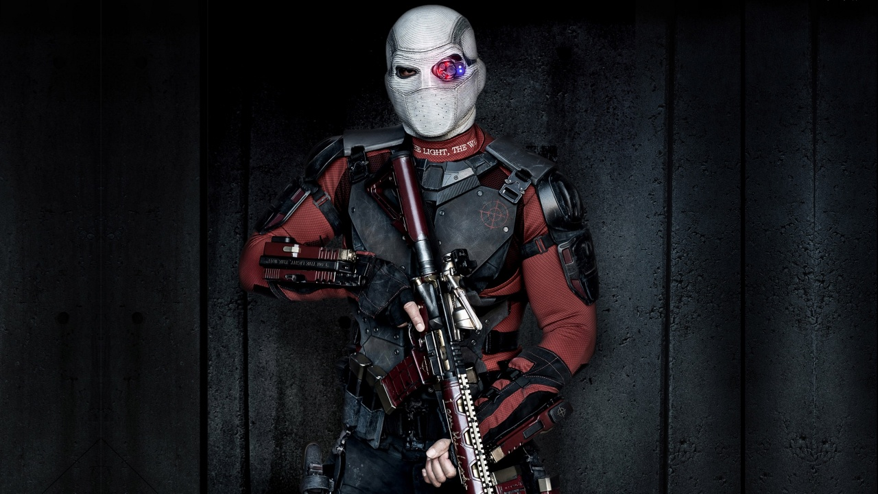Suicide Squad Will Smith Deadshot Wallpapers HD Wallpapers 1280x720