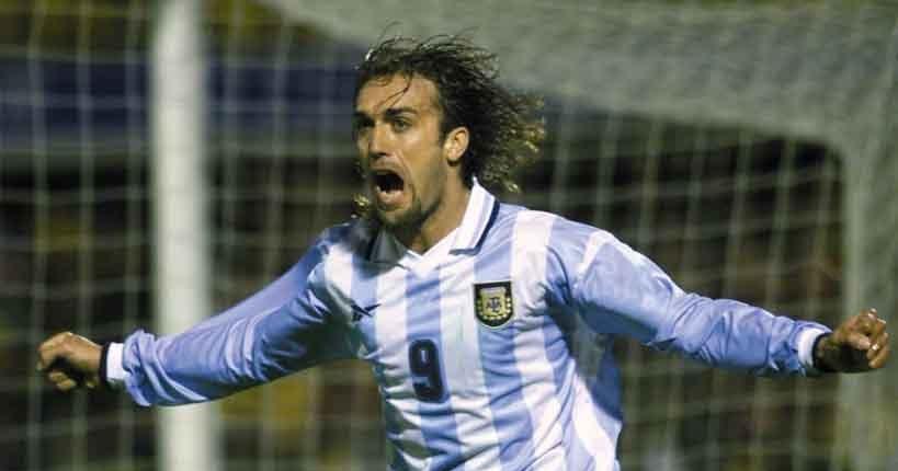 Gabriel Batistuta Argentina Legend   Soccer Series 819x430