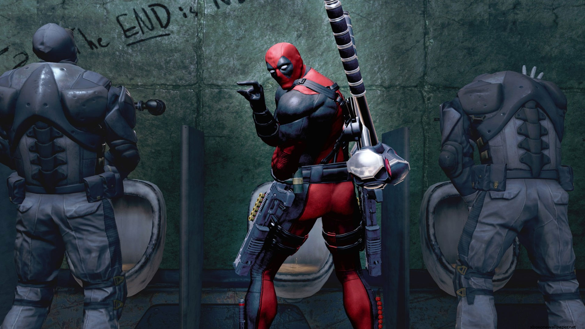 Marvel Deadpool The Game Wallpaper Photo HD Wallpaper 1080p 1920x1080
