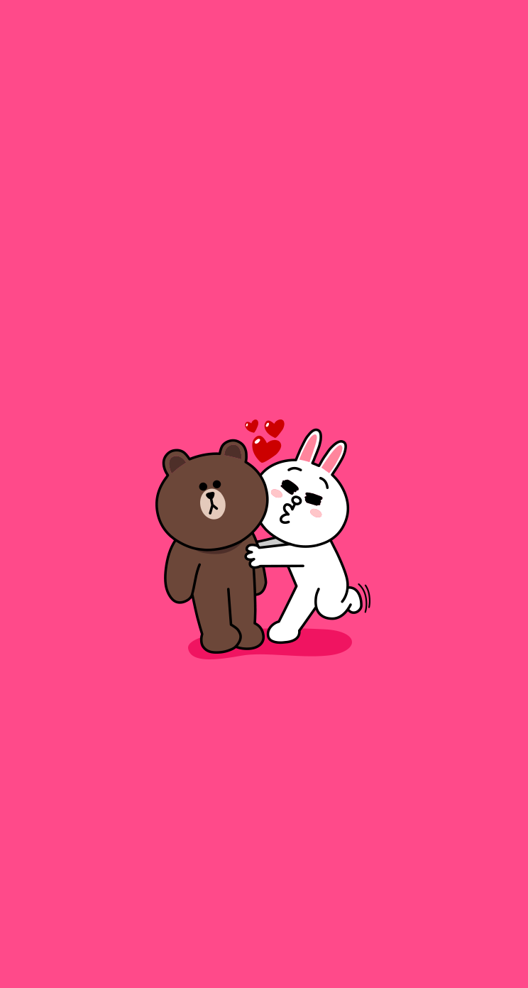 Download Brown Cony 744 x 1392 Parallax Wallpapers 744x1392