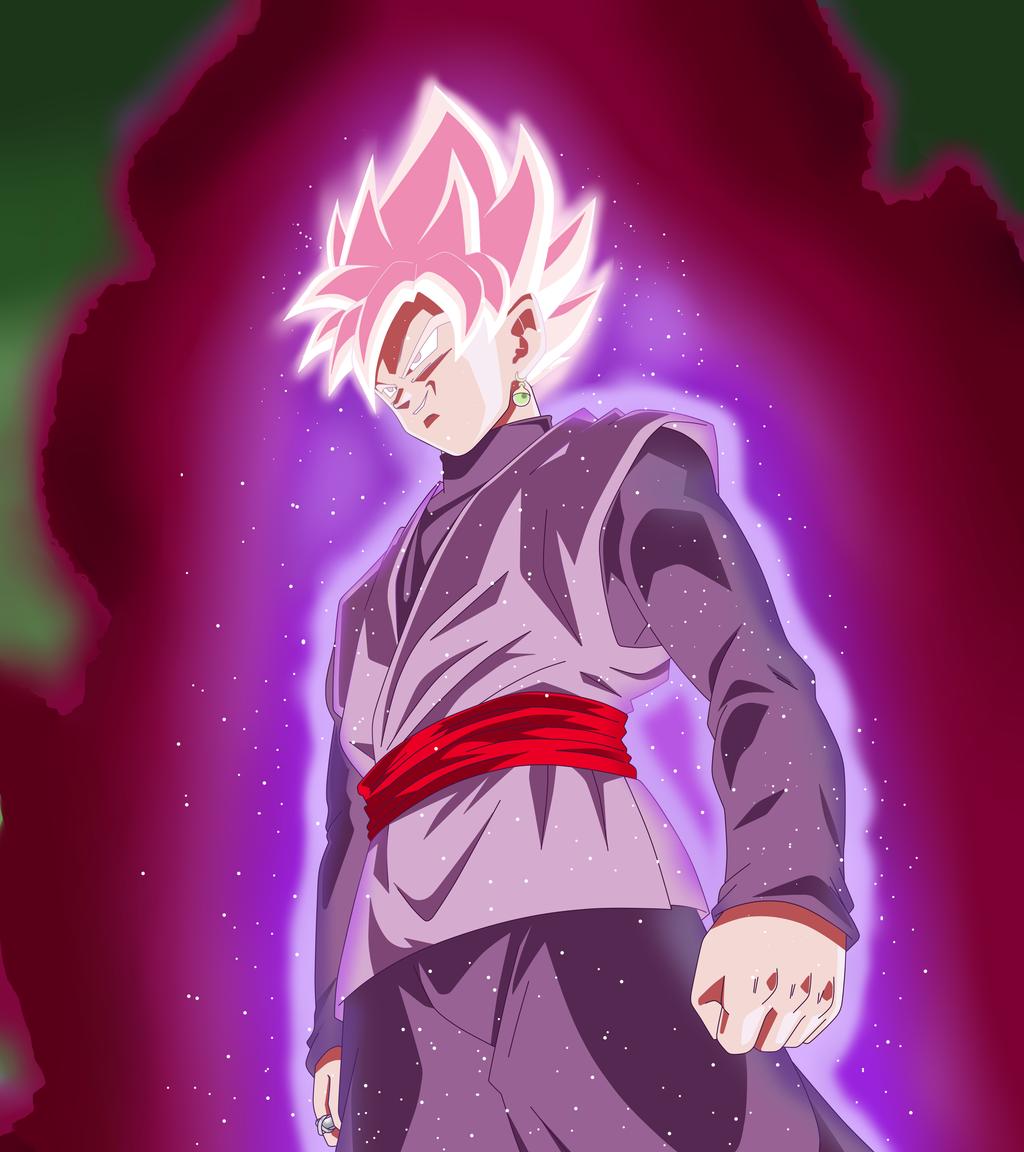 Free Download Black Goku Ssj Rose Minecraft Skin 1024x1152 For