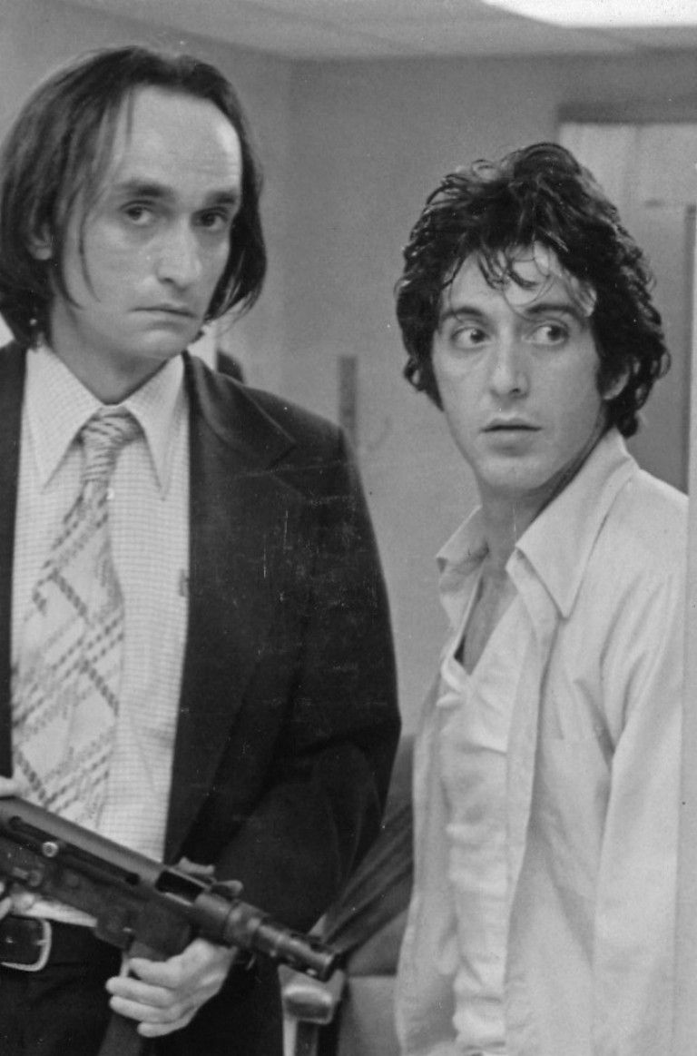 Dog Day Afternoon 1975   John Cazale and Al Pacino With images 768x1163