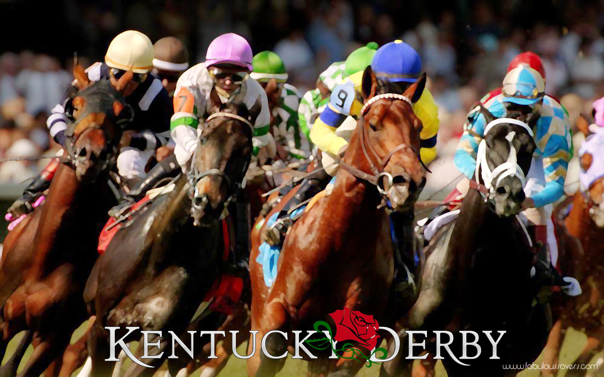 Roses Kentucky Derby computer desktop wallpapers pictures images 1920x1200