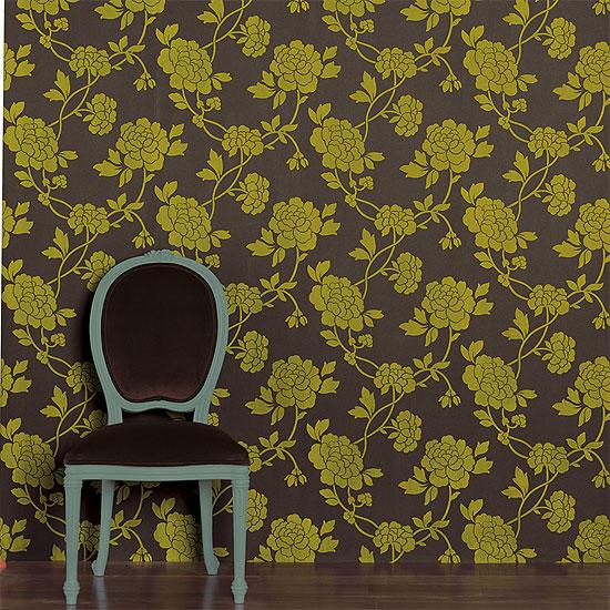 Home wallpaper murals   Flock wallpaper designs 550x550