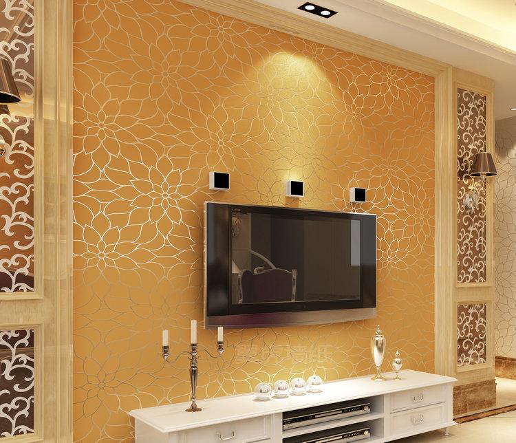 2014 wallpaper minimalist living room bedroom wallpaper TV backdrop 750x644