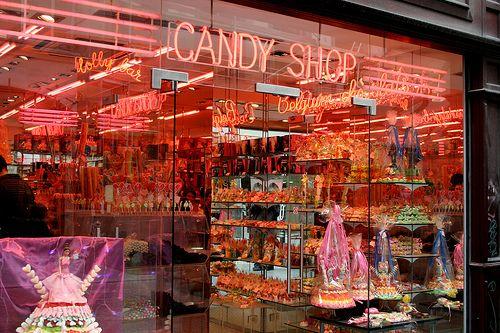 Candy Shop Wallpaper - WallpaperSafari