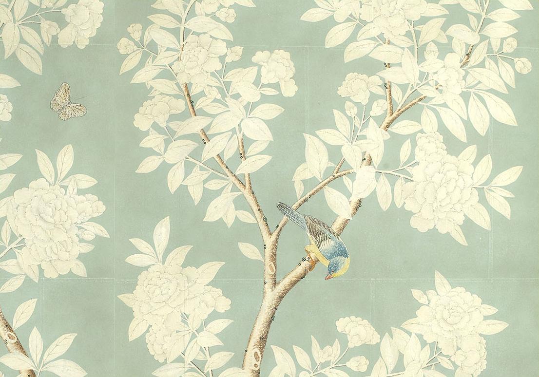 download Gracie Handpainted Wallpaper Custom Furniture Asian 1106x774