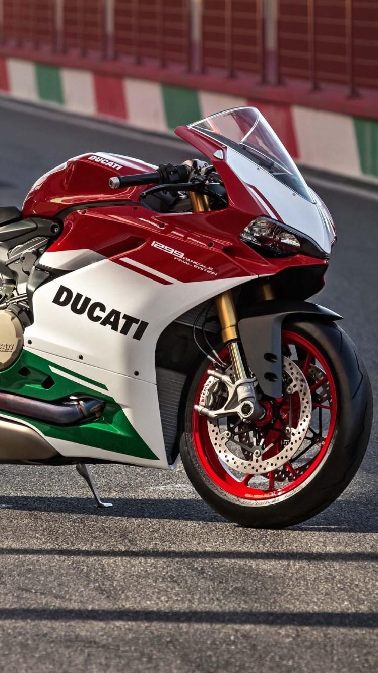 Download wallpaper Ducati 1299 Panigale R 750x1334 750x1334