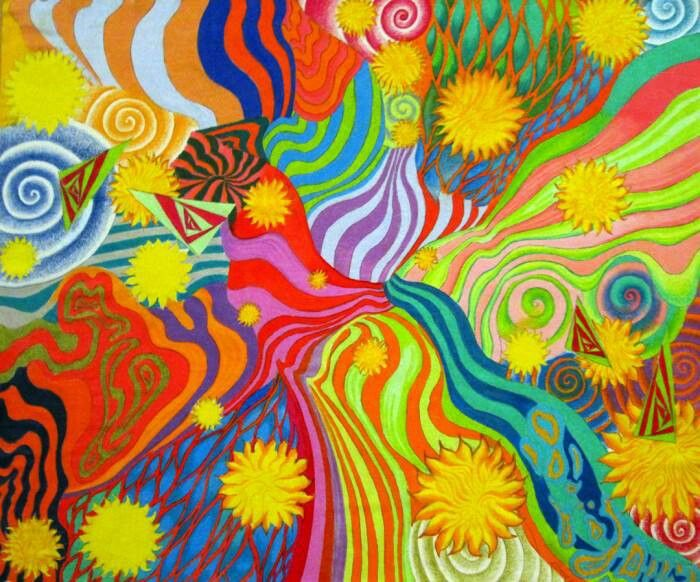 Peter Max art Pinterest 700x582