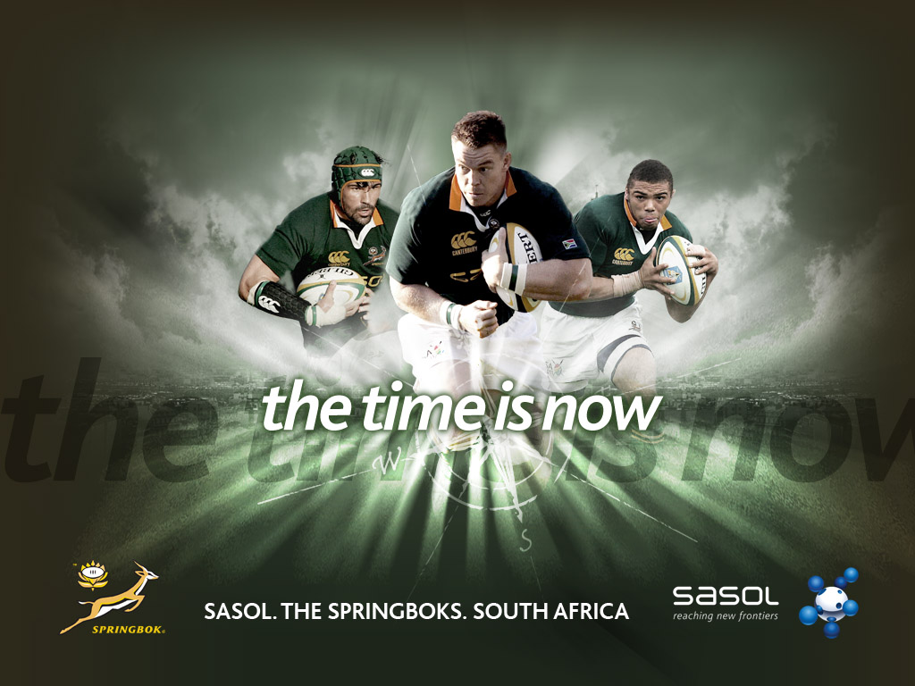 Today we recommend you this great picture Enjoy Springboks 1024x768
