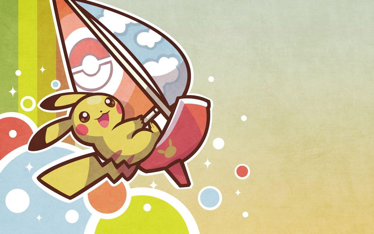 Pikachu   Pokemon wallpaper 17936 1280x800