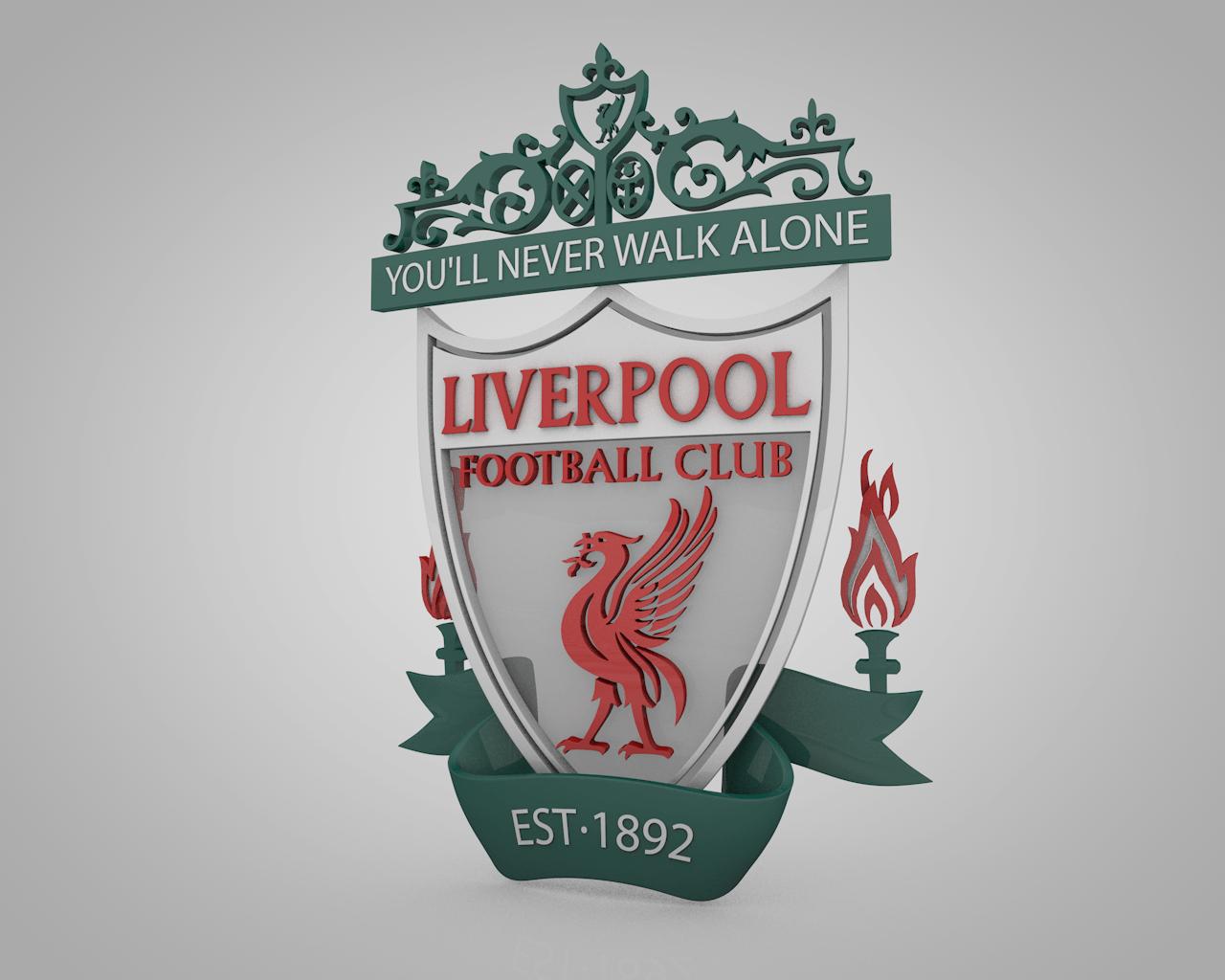 Wallpapers Logo Liverpool 2016 1280x1024