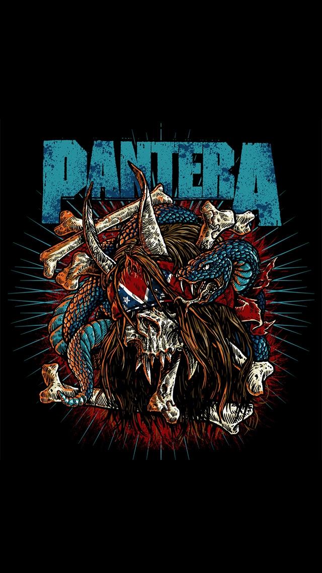Pantera iPhone 5 Wallpaper 640x1136 640x1136