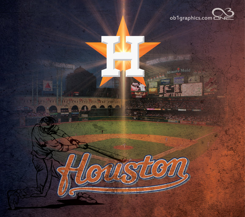 Hoston Astros Wallpaper by texasOB1 800x710