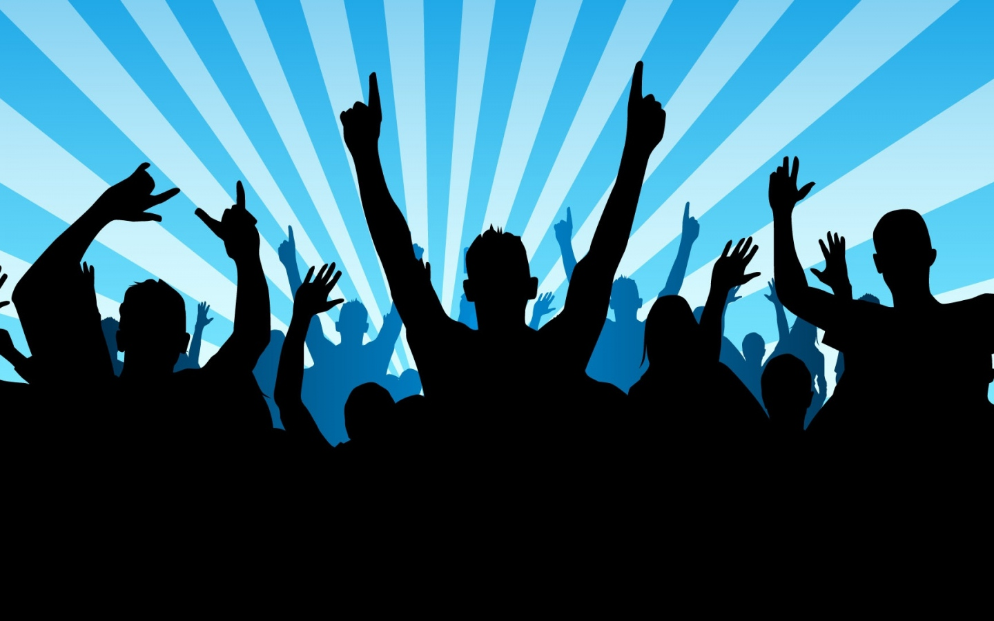 Wallpaper 1440x900 disco club dance hands 1440x900 HD Background 1440x900