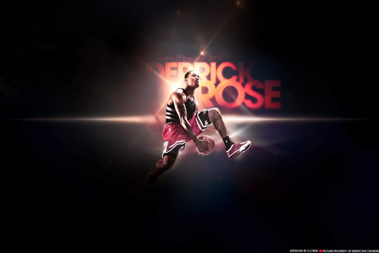 NBA Images as Computer Wallpaper   Derrick Rose Chicago Bulls Leader 1280x853