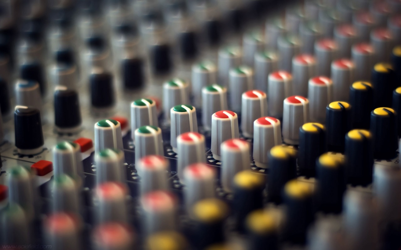 1280x800 Mixer Knobs wallpaper music and dance wallpapers 1280x800