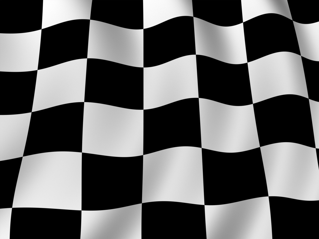Checkered flag wallpaper in 1024x768 screen resolution 1024x768