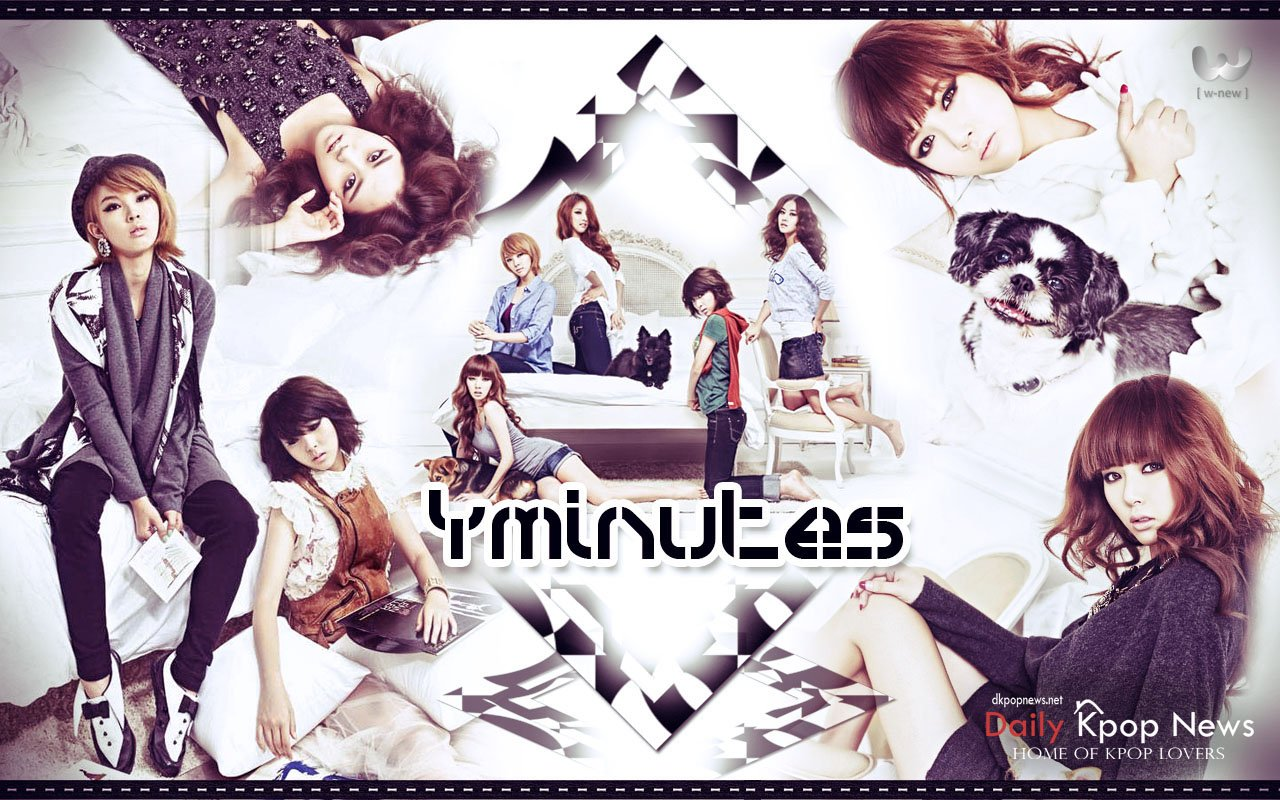 4minute Kpop Girl Power Wallpaper Take Wallpaper 1280x800