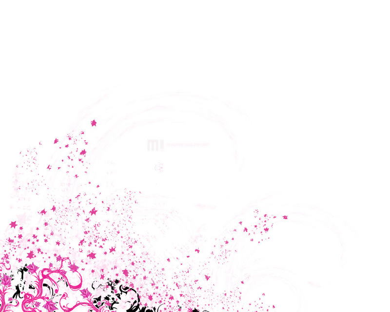 white and pink wallpaper - photo #2
