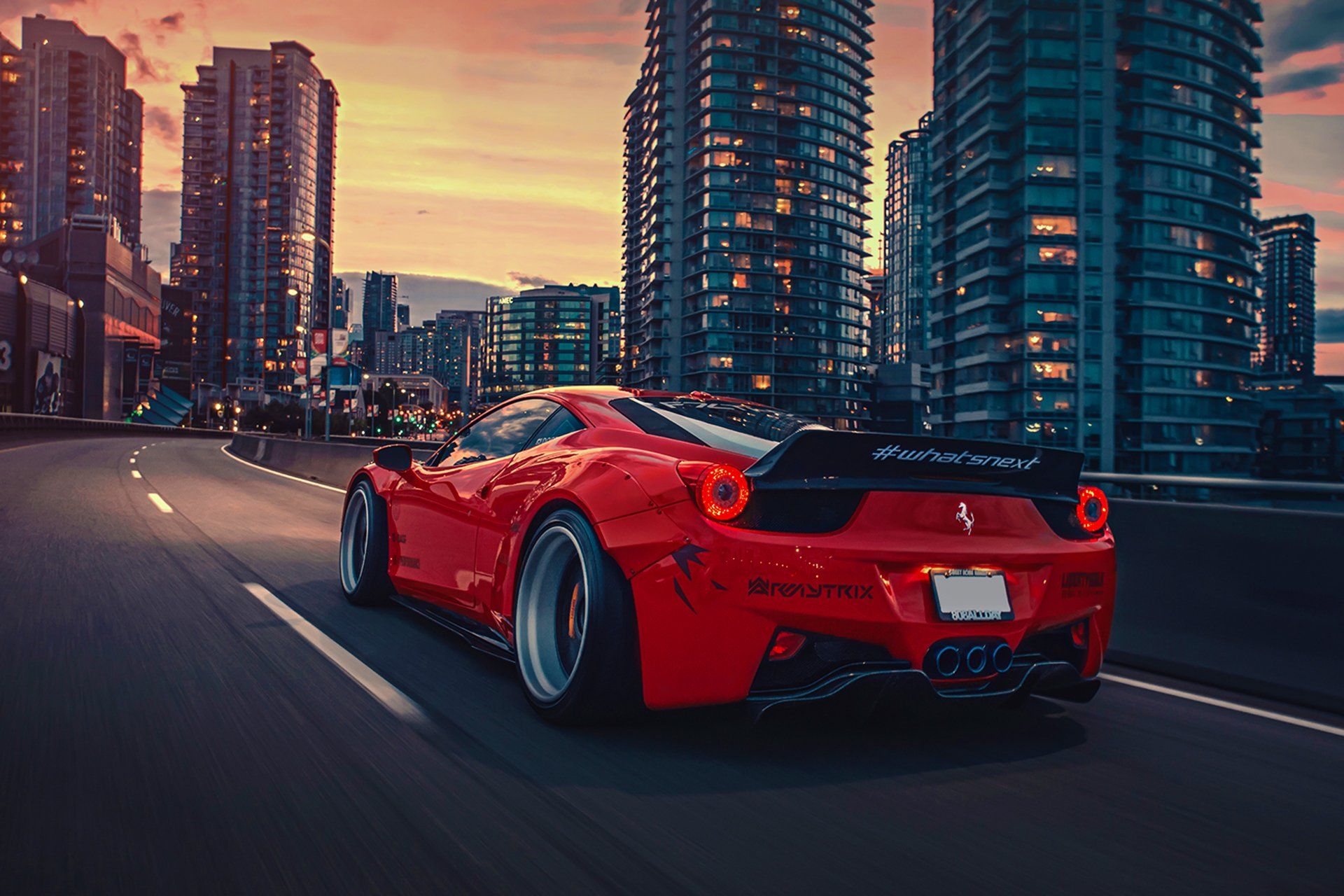 3286 Red Car HD Wallpapers Background Images 1920x1280