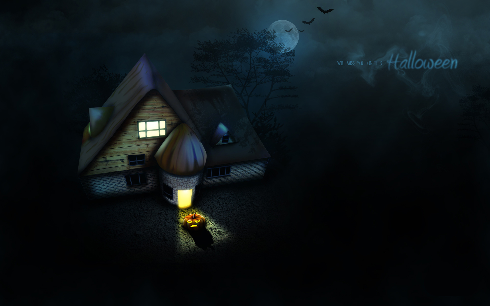 powerpoint templates halloween background wallpaper animated 1920x1200