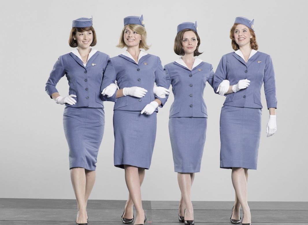 Photo Pan Am Flight Attendants Hd Wallpaper Wallpaper 1066x779