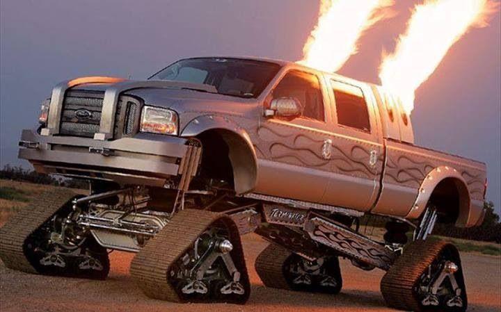 Awesome Jacked Up Trucks Pinterest 720x449