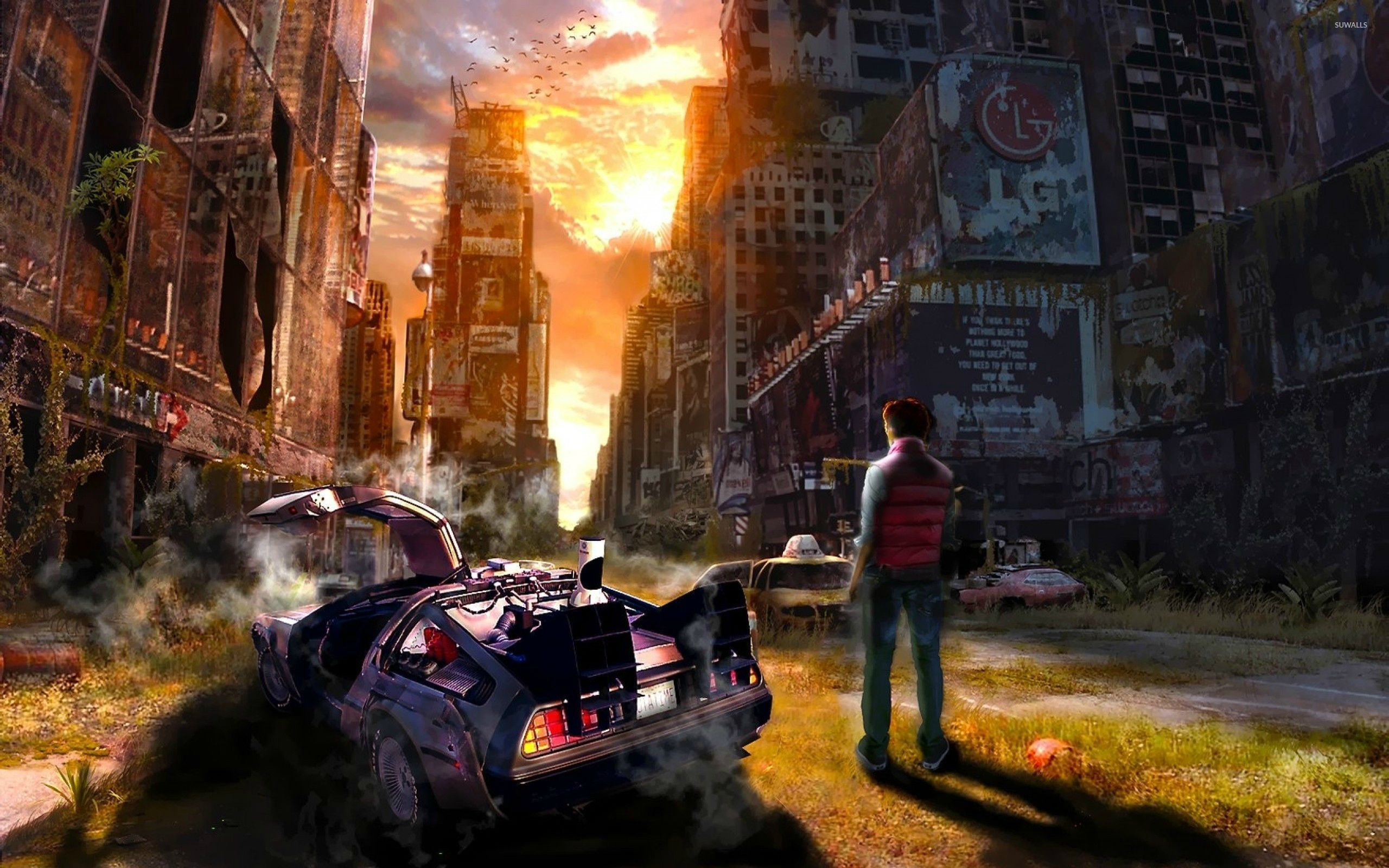 Back to the Future Wallpapers   Top Back to the Future 2560x1600