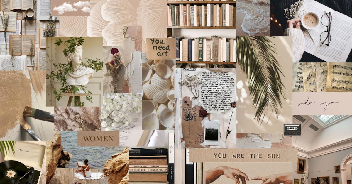 Photo Collage Wallpaper Desktop Wallpaper Digital Collage Art 1200x630
