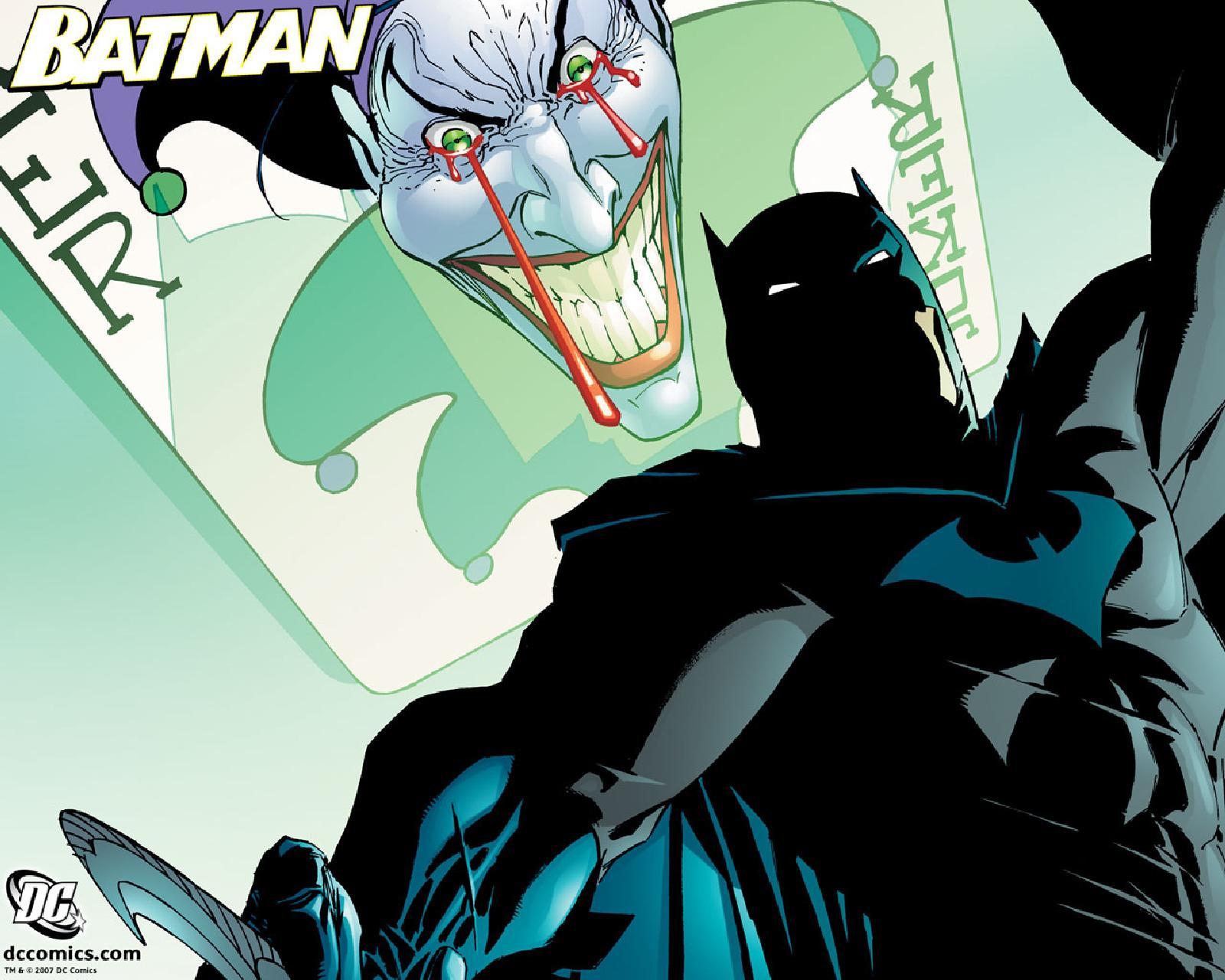 Batman vs Joker Wallpaper 1600x1280