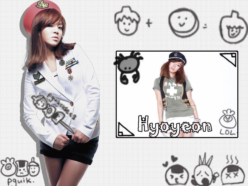 Hyoyeon SNSD Pquik Cover Wallpaper SNSD Artistic Gallery 1024x768