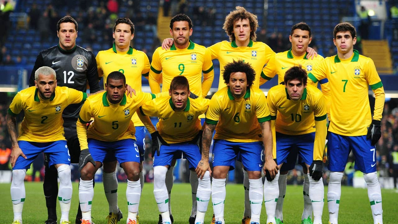 brazil football team 2014 in high resolution for this wallpaper 1280x720