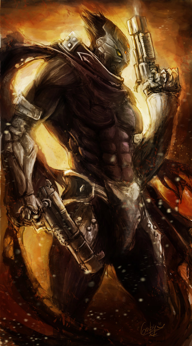 Guns of the apocalypse   Darksiders by chimicalstar 666x1199