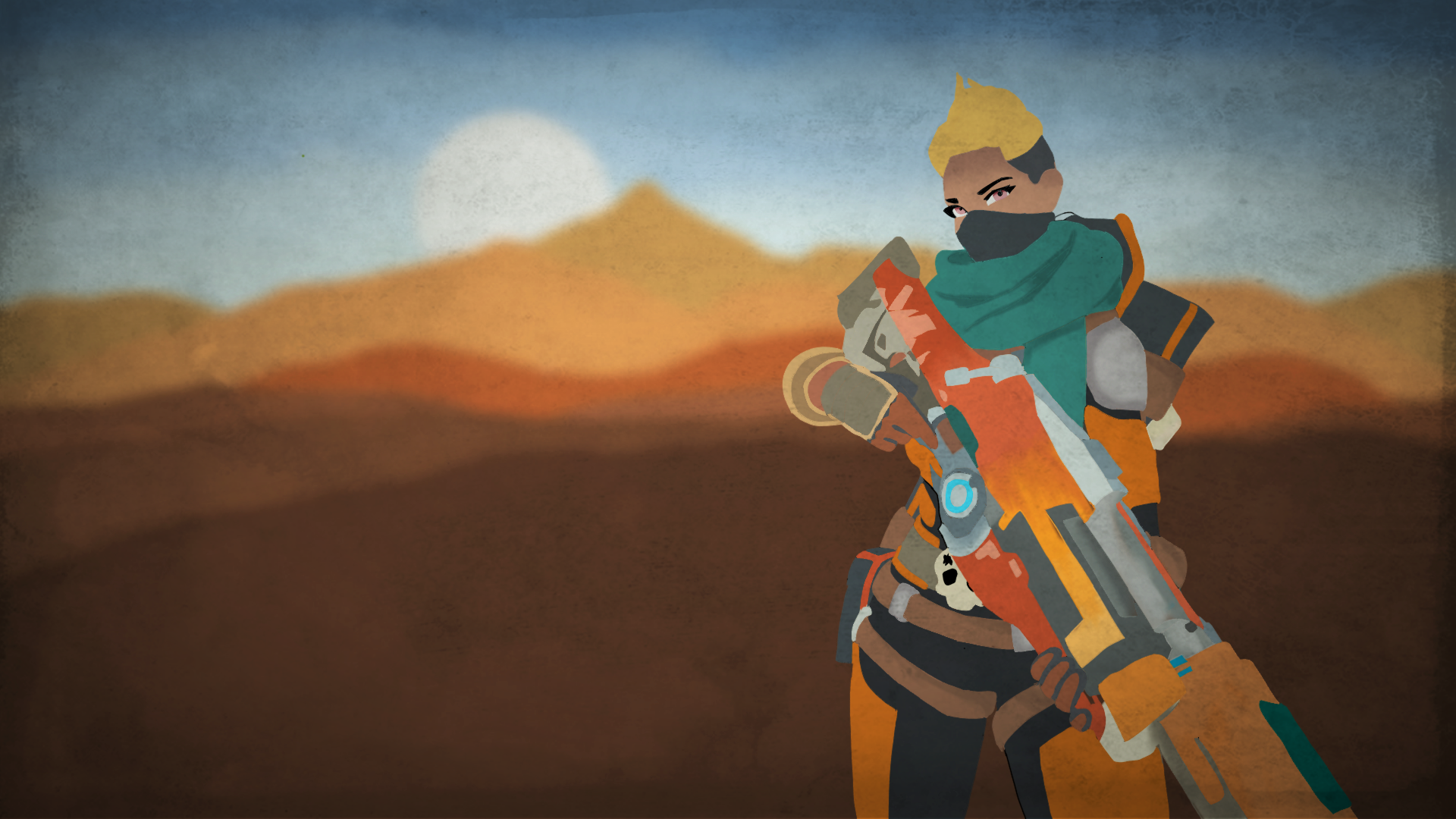 Wallpapers Kinessa and Pip Skins 1920x1080