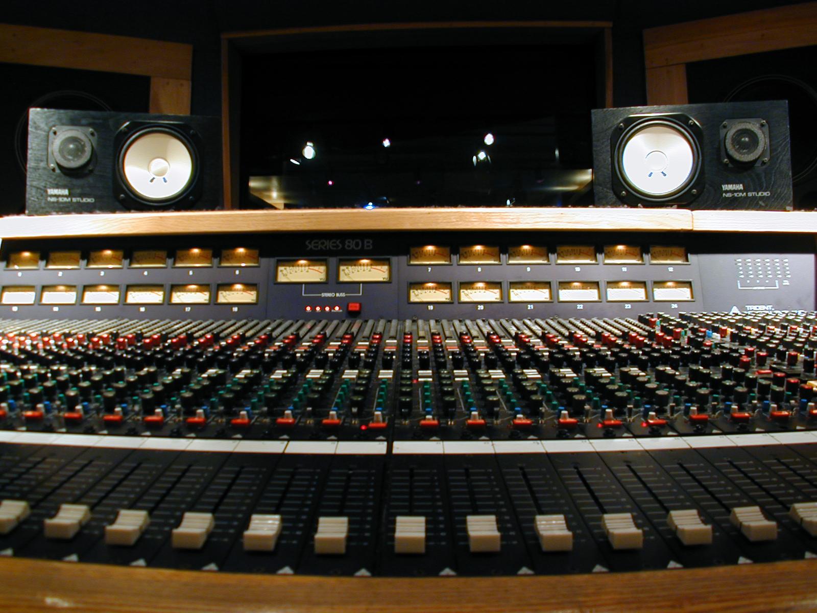 HD Recording Studio Wallpaper 1600x1200