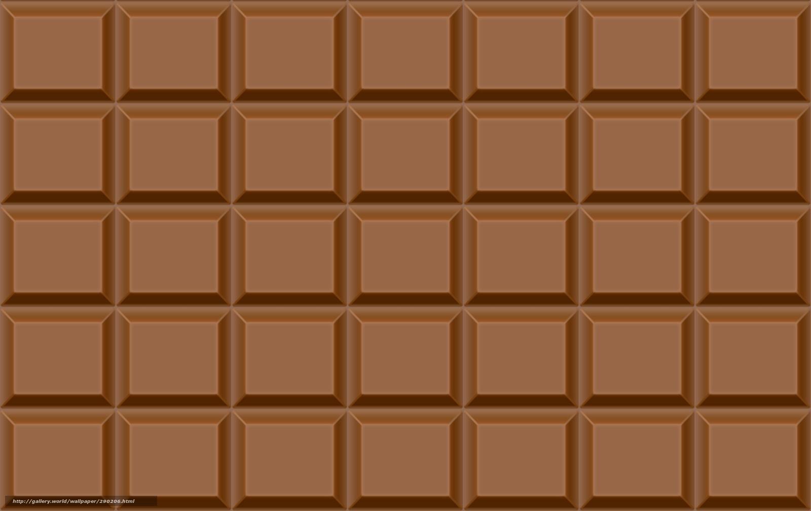 Papel de parede chocolate telha fundo 290206 Seo Textura 1600x1008
