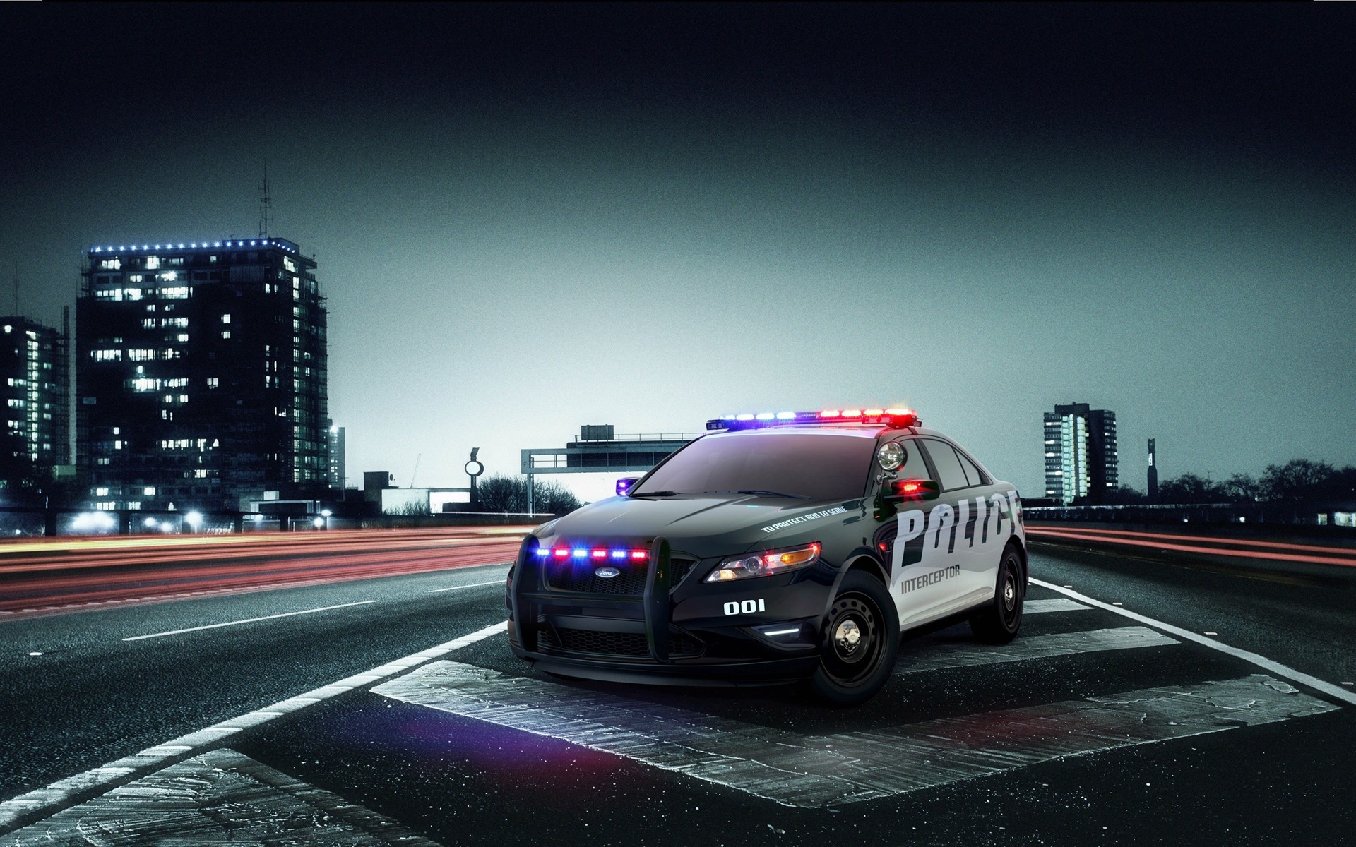 wallpapers screen savers police screensavers ford interceptor 1920x1200