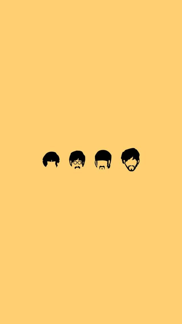 The Beatles Cartoon Iphone 5 Wallpapers And Backgrounds 640 X 1136 640x1136