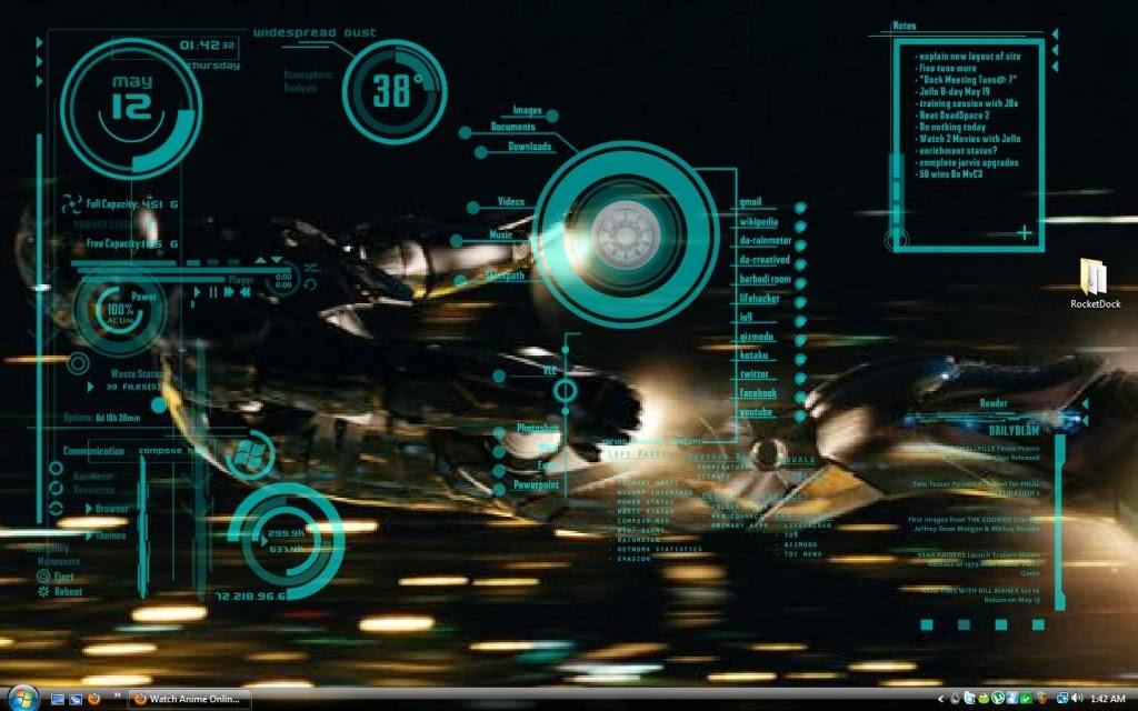 Jarvis Iron Man Wallpaper Hd: Iron Man Jarvis Wallpaper HD